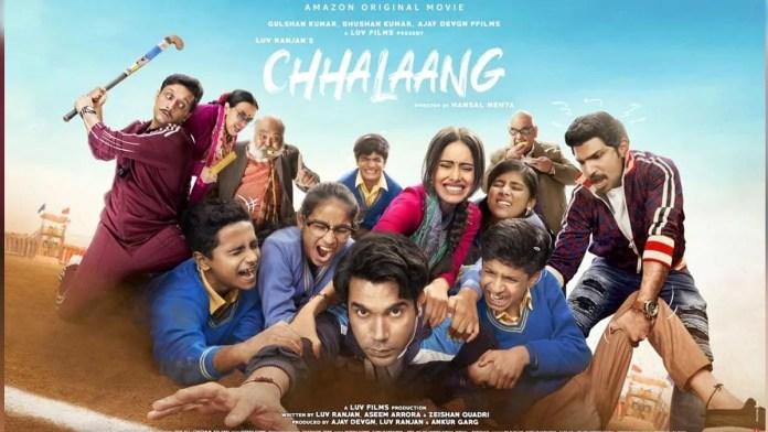 Chhalaang Full Movie Download Leaked By Filmywap, Filmyhit, Filmyzilla, Filmymeet, Moviesflix Full HD 720p 480p Free