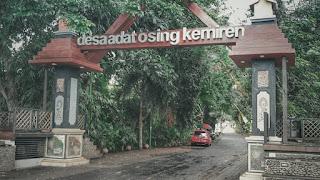 Kampung Osing, kemiren