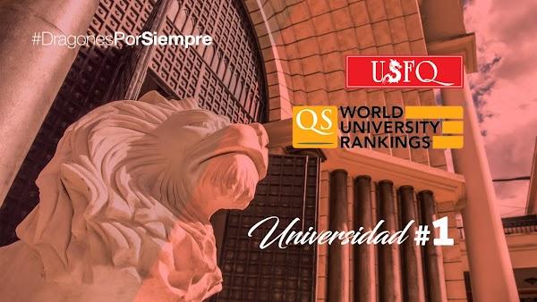 USFQ se ubica nuevamente como líder de la educación superior ecuatoriana