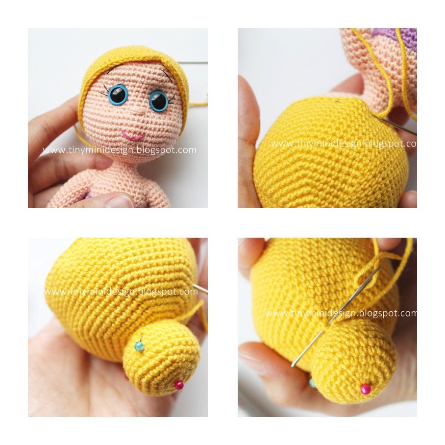 crochet ballerina doll | http://lomets.com | 908x908