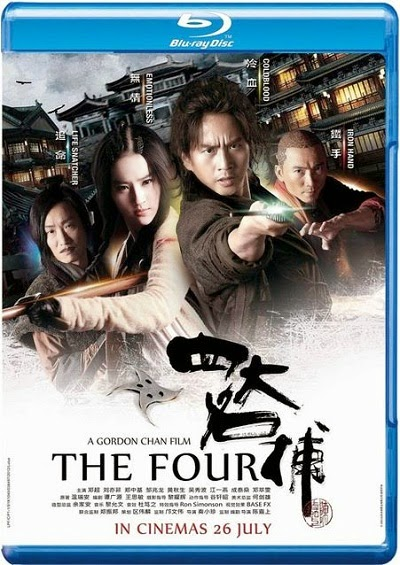 The Four 2012 Hindi Dubbed BRRip 480p 300mb