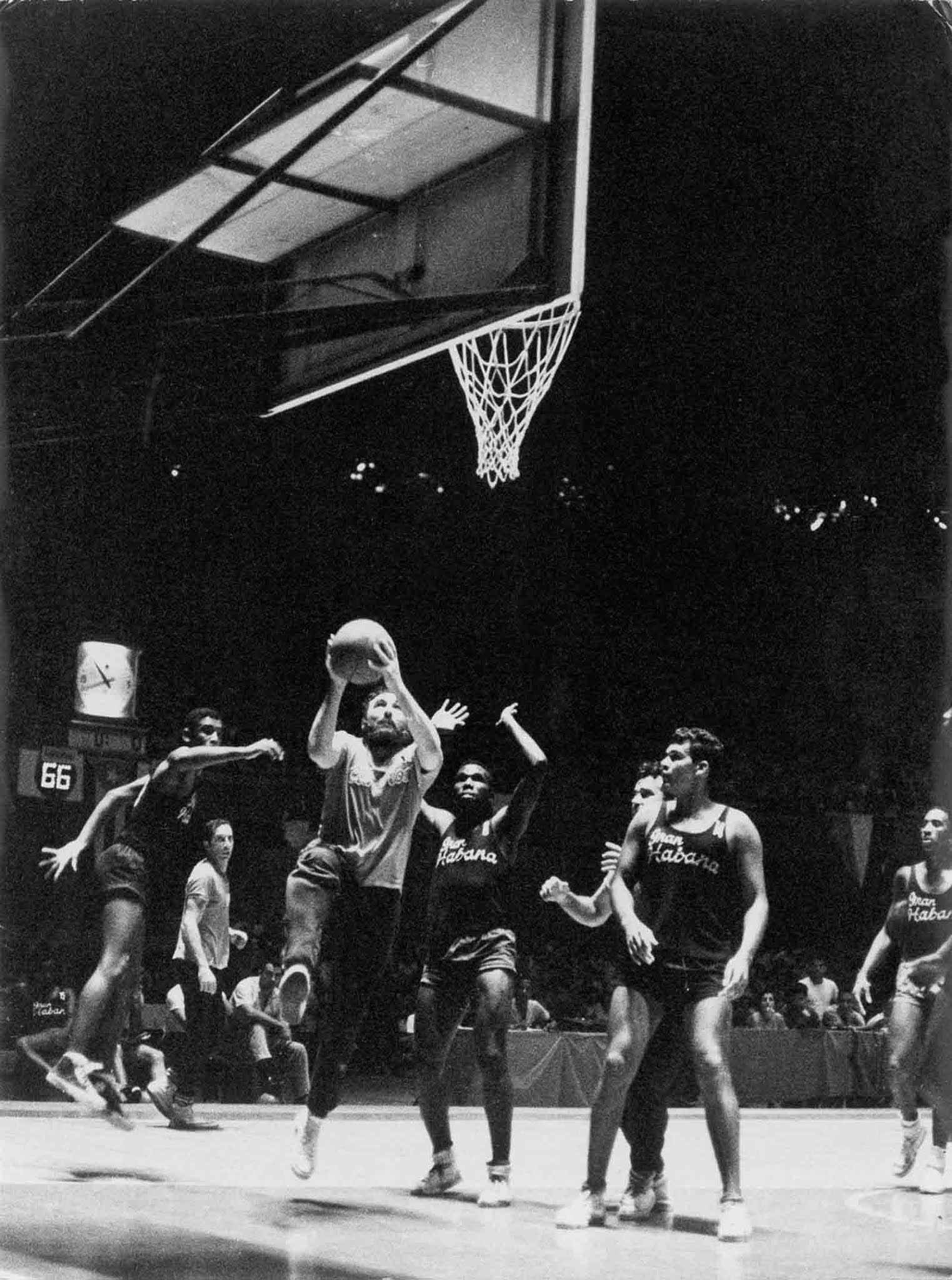 fidel castro basketball