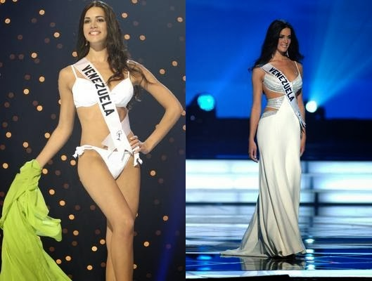 Monica Spear swimsuit and evening gown