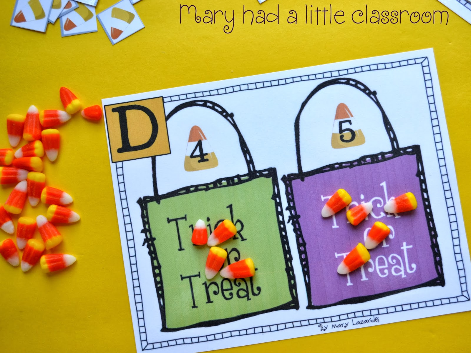 Mary Had A Little Classroom 10 Days Of Halloween Centers