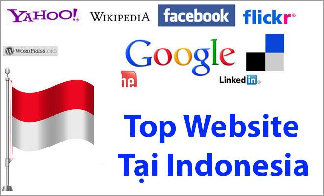 Top 50 website lớn nhất tại Indonesia