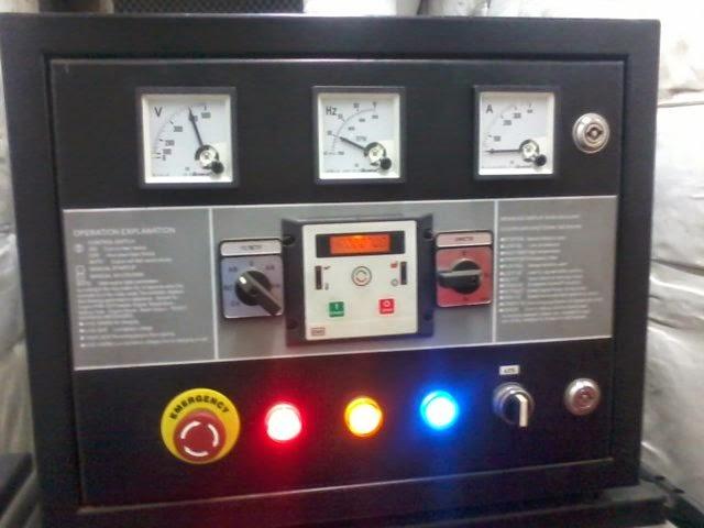 service dan pembuatan panel control genset