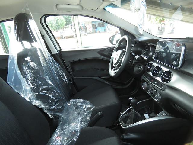Novo Fiat Argo - interior