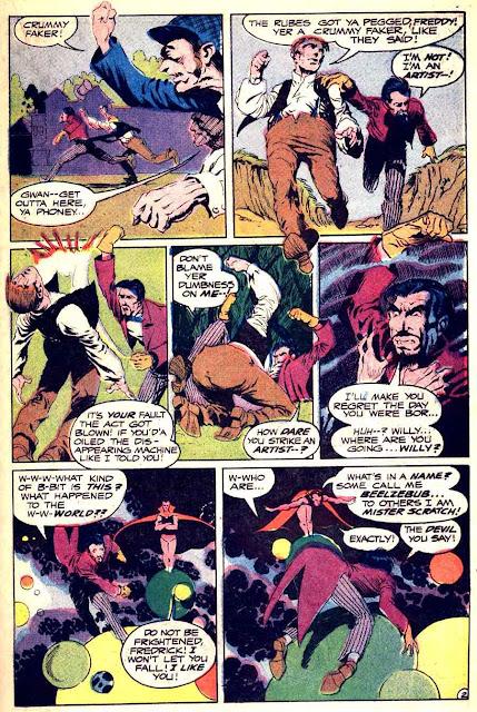 Spectre v1 #9 dc 1960s silver age comic book page art by Bernie Wrightson