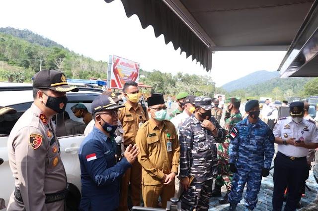 Sekretaris Daerah Kabupaten Lingga Pimpin Apel Kesiapsiagaan Menghadapi Bencana