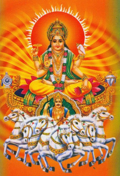Hindu Goddess pushan picture
