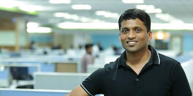 Success story of Byju Raveendran