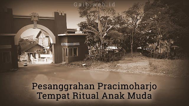 Tempat ritual Pesanggrahan Pracimoharjo