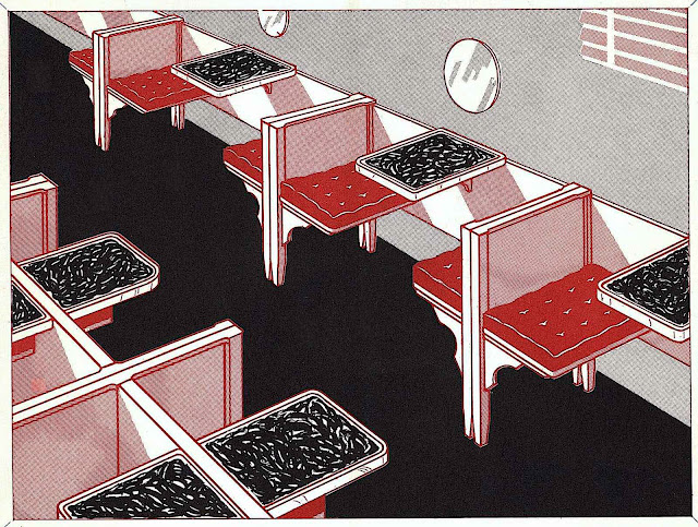 1939 restaurant booths from an industry supply catalog