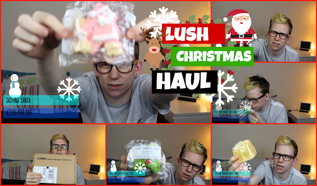 lush christmas haul shout john