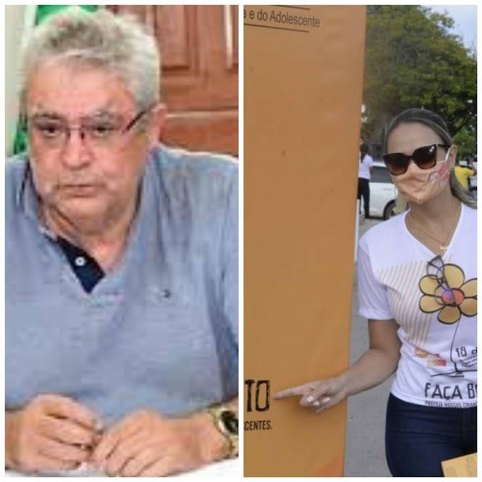 ALÔ MINISTÉRIO PÚBLICO - Secretária e cunhada do prefeito de Matões usa logomarca de pré-campanha eleitoral em ação da prefeitura