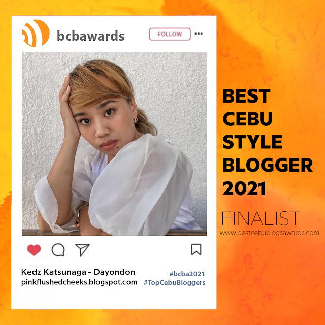 BEST CEBU BLOGS AWARDS 2021 – STYLE BLOG CATEGORY