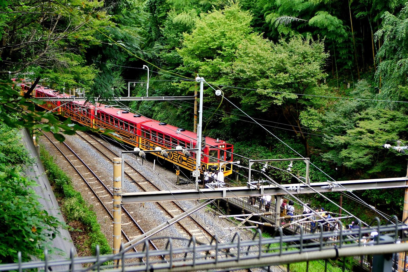 「嵐山嵯峨野小火車」的圖片搜尋結果