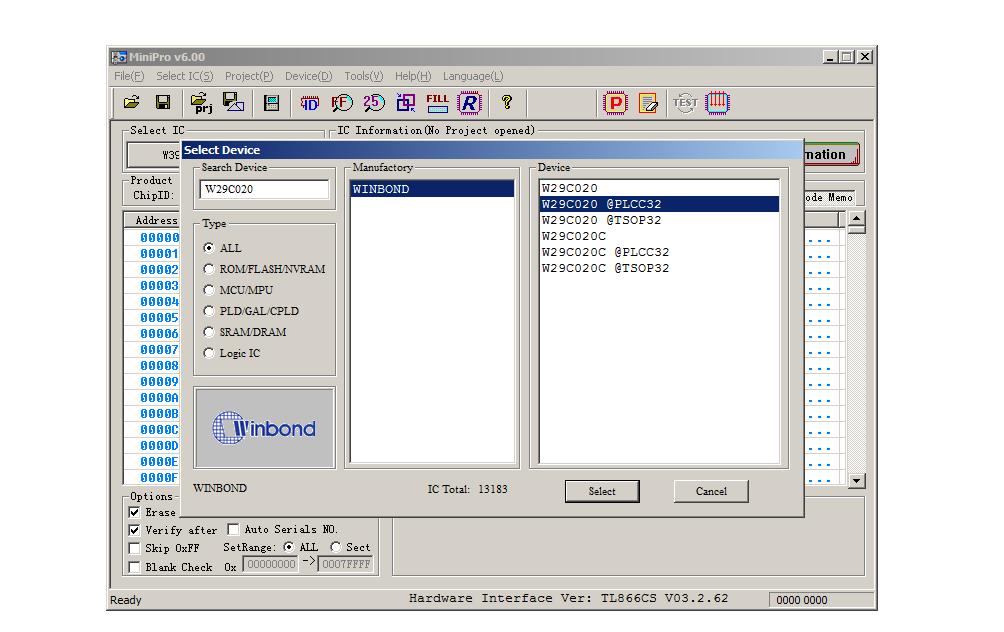 Tutorial programación memoria flash ( o eprom, eeprom, prom, etc) +