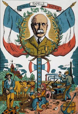 La propagande vichyste valorise Pétain