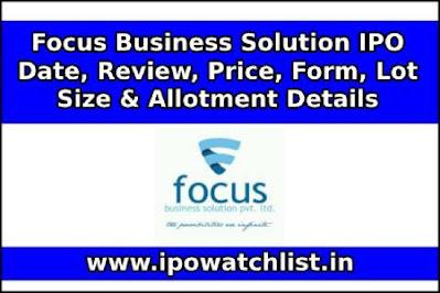 Focus Business Solution ipo