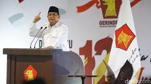 Untuk Kesekian Kalinya Prabowo Menjadi Pemimpin Partai Gerinda