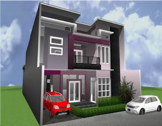 warna cat depan rumah minimalis modern yang elegan