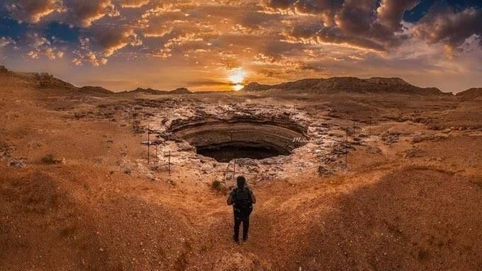 SERAM TELAGA BARHOOT - tempat roh orang-orang kafir berkumpul (lembah) #hadis