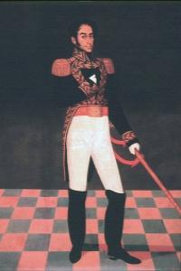Retrato de Simón Bolívar Lima José Gil de Castro