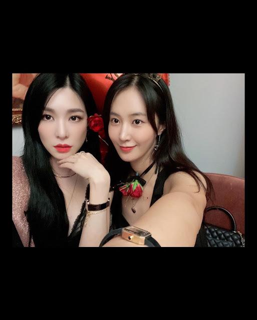 SNSD Yuri Tiffany Birthday