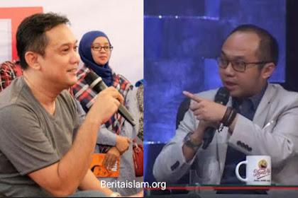 Ribut, Yunarto Sebut Logika Bodoh Denny Siregar Bikin Image Jokowi jadi Jelek