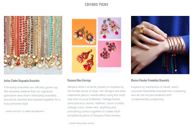 Jewellery Curated Shop