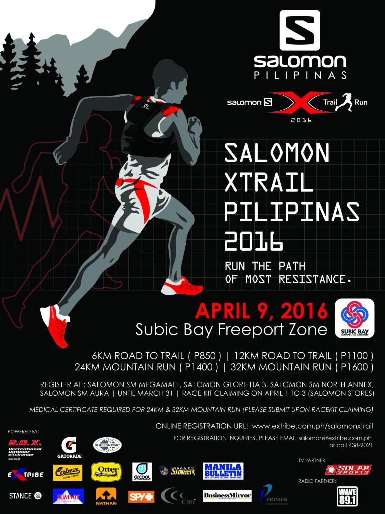 Salomon Xtrail Pilipinas Run | Tagaytay Highlands | March 31