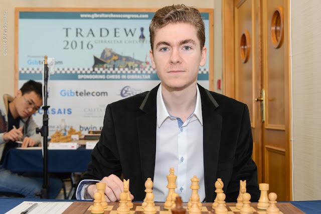 David Antón en el Tradewise Gibraltar Masters (Foto: John Saunders)