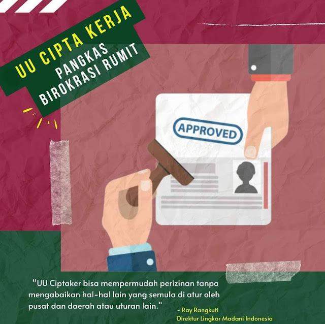 UU Cipta Kerja Menurut Alfi Kusuma