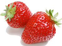 strawberry - une fraise - Fragaria