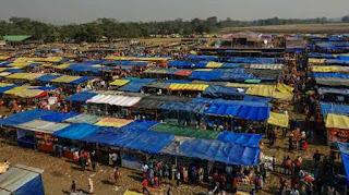 Bazaar of Jonbeel Mela