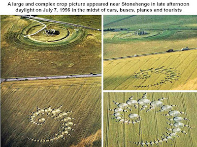 Crop Circle NEAR STONEHENGE