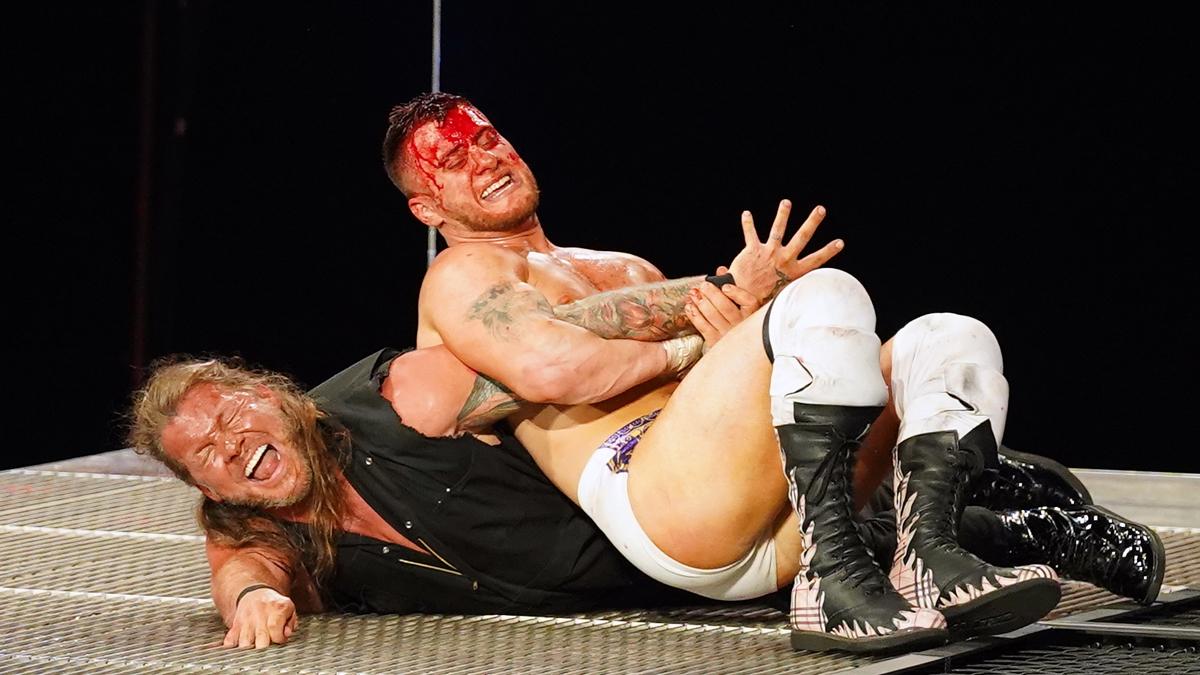 Shotzi Blackheart comenta sobre polêmico tweet após a queda de Chris Jericho no AEW Blood & Guts