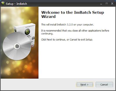 免費圖片、照片批次轉檔工具 ImBatch 改檔名 解析度