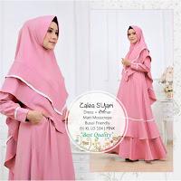 Jual Baju Busana Muslim Dress Zalea Syari