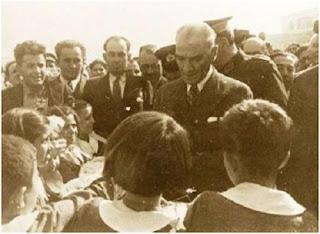 Atatürk Öğretmenler için karlı yollara düşmüştü!