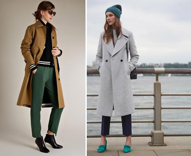 Сочетание аналогичных и нейтральных цветов в одежде