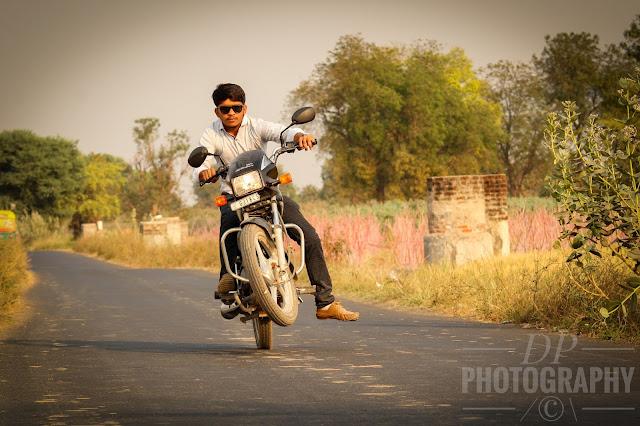 Dhaval Halpani , #Bike