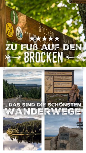 5 Wanderwege auf den Brocken im Harz  Zu Fuß auf den Brocken wandern - Wanderwege auf den Brocken im Überblick 21