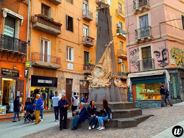 Street in Cagliari | Sardinia, Italy | wayamaya