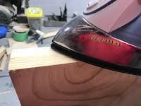 Applying veneer