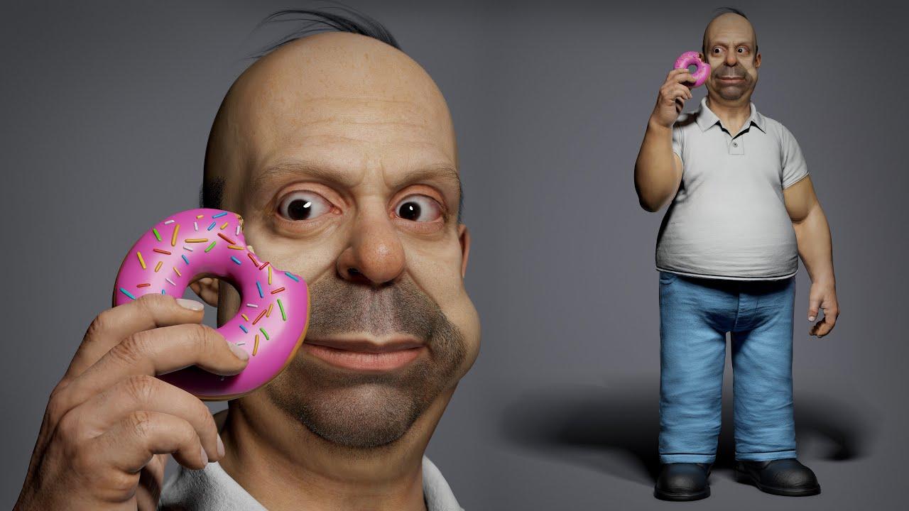 Así serían los personajes de Los Simpson si existieran en la vida real (+Videos)