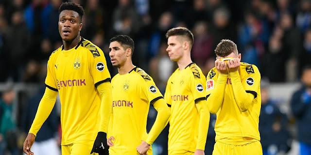 It was stupidity, Dortmund lost to Hoffenheim, Es ist Dummheit manchmal, BVB gegen Hoffenheim