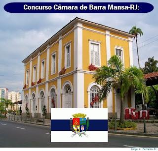 Edital Concurso Câmara de Barra Mansa 2018