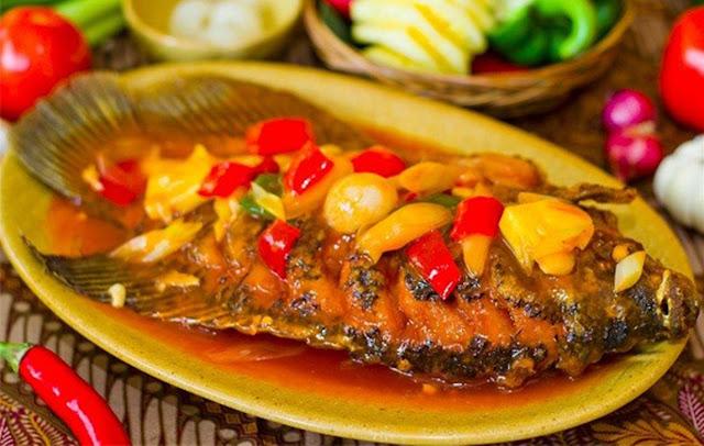 Resep Instan : Ikan Nila Saus Asam Pedas Manis